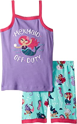 Underwater Kingdom Sleeveless Pajama Set (Toddler/Little Kids/Big Kids)