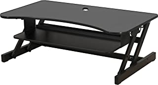 Lorell LLR99759 Deluxe Ergonomic Sit-to-Stand Monitor Riser