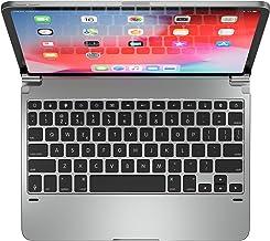 Brydge Pro 11.0 Keyboard for 11.0-inch iPad Pro 3rd Generation 2018 Model | Aluminum Wireless Bluetooth Keyboard with Back...