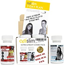 Actislim Ultra 6 Week and Night Dual Pack Actislim Ultra The UK s 1 Classic weight loss slimming pill contains Ginkgo Leaf Guarana Ginger and Caffeine for a subtle aEoePOWERFULaE weight loss Estimated Price : £ 36,95