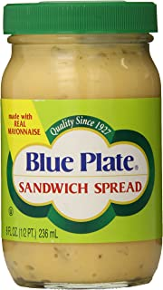 Blue Plate Sandwich Spread, 8 Ounce Jar (Pack of 12)
