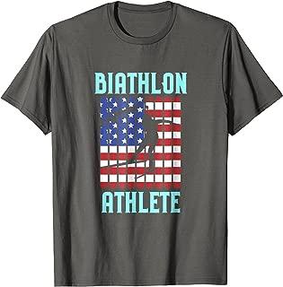 Biathlon Winter Ski T-Shirt Skiing Gift