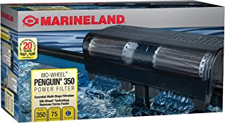 Marineland PF0350B Penguin Power Filter, Upto 75 Gallons, 350 GPH