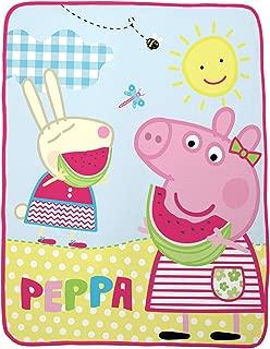 Peppa Pig Silky Soft Throw