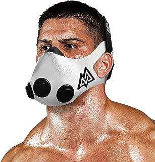 TRAININGMASK Training Mask 2.0 [White] Elevation Training Mask, Fitness Mask, Workout Mask, Running Mask, Breathing Mask, Resistance Mask, Elevation Mask, Cardio Mask, Endurance Mask for Fitness