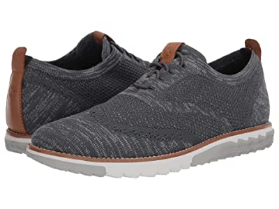 Hush Puppies Expert Wing Tip Knit (Dark Grey Multi Knit) Men
