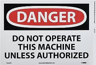 operate the machine