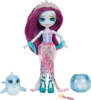 Enchantimals Muñeca con mascota acuática Dolce Dolphin (Mattel FKV55) , color/modelo surtido