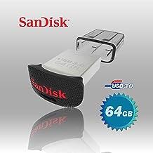 Memoria Flash USB 3.0 SanDisk Ultra Fit de 64 GB, Velocidad de Lectura de hasta 150 MB/s