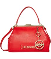LOVE Moschino - Love Logo Clasp Handbag
