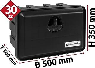 28l Unterbaubox für Nutzfahrzeuge oder Anhänger, Staubox, Werkzeugkiste, Gurtkiste, Deichselbox