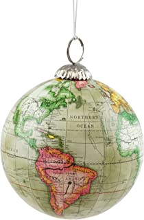 Best world globe christmas ornaments Reviews