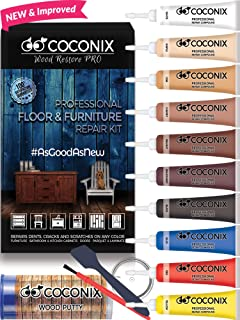 Coconix Floor and Furniture Repair Kit - Restorer of Your Wooden Table, Cabinet, Veneer, Door and Nightstand - Super Easy Instructions Matches Any Color - Restore Any Wood, Cherry, Walnut, Hardwood