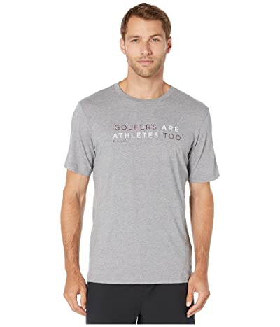 TravisMathew Ted T-Shirt (Heather Grey) Men