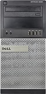 Dell 9020 Tower, Core i7-4770 3.4GHz, 16GB RAM, 500GB Hard Drive, DVDRW, Windows 10 Pro 64bit (Renewed)