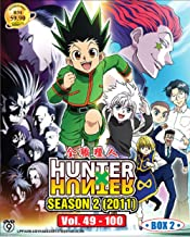 Hunter x Hunter 2011 Season 2 Box 2 Vol. 49-100 (DVD, Region All) English subtitles Japanese anime