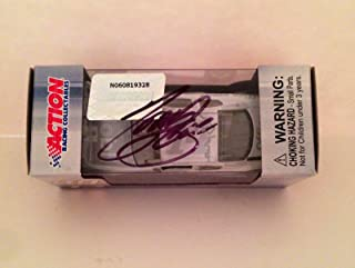 2011 Tony Stewart Signed MOBIL 1 ICE SS 1/64 Diecast Action Lionel Car #2 - Autographed Diecast Cars
