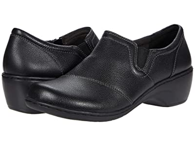 Clarks Channing Park (Black Leather) Women