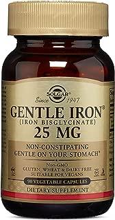 SOLGAR Gentle Iron Vegetable Capsules Bonus, 90 CT