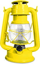 Northpoint 190609 Vintage Style Moroccan Sun Hurricane 12 LED's and 150 Lumen Light Output and Dimmer Switch, Battery Operated Hanging Lantern for Indoor and Outdoor Usage