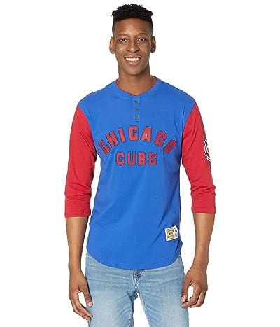 Mitchell & Ness MLB Franchise Player Henley Cubs (Royal) Men