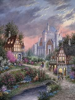 SUNSOUT INC Enchanted Castle 500pc Jigsaw Puzzle by Dennis Lewan