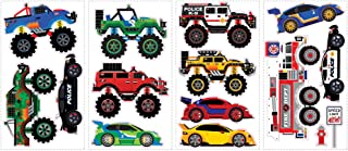 hot wheels stickers for wall