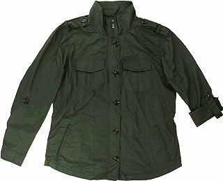 Buffalo David Bittonレディース'srollタブスリーブアノラックシャツジャケット