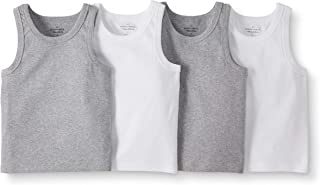Boys' 4-Pack Organic Cotton Muscle Tank