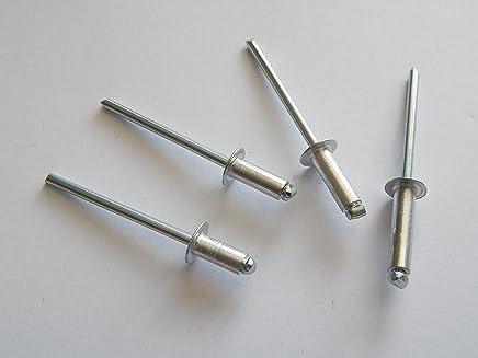   Nieten DERING Blindniet 4,8x14 mm mit Flachkopf DIN 7337 Edelstahl A2 rostfrei 20 St/ück