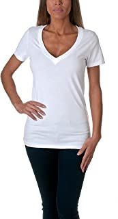 Best fitted v neck tees Reviews