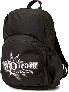 Volcom Junior's Fieldtrip Poly Backpack, black, One Size Fits All