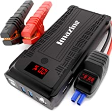 Imazing Portable Car Jump Starter - 2500A Peak 20000mAH (Up to 8L Gas or 8L Diesel Engine) 12V Auto Battery Booster Portab...