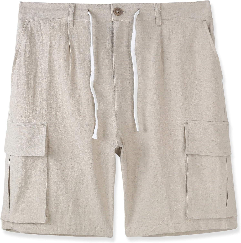 Japan Maker New DESPLATO Mens Casual Classic Comfort Linen Pocket Cotton Free shipping Soft Ch