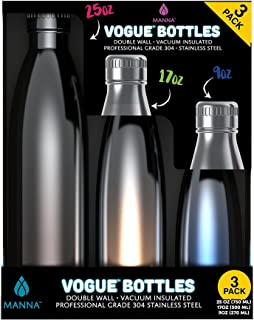manna 2 pack vogue bottles