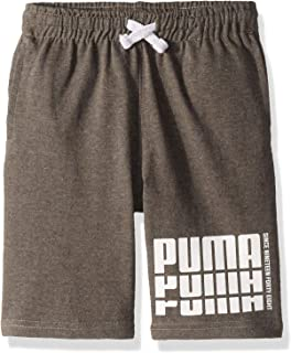 PUMA Boys 71193378FME-P011 Boys' Cotton Shorts Shorts - Gray