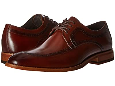 Stacy Adams Dwight Moc Toe Oxford (Cognac) Men