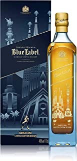 Johnnie Walker Blue Label Whisky Edición Limitada Barcelona - 700 ml