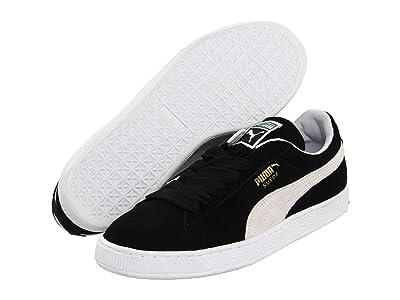 PUMA Suede Classic (Black/White) Shoes