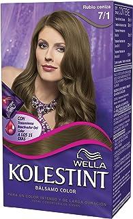 Wella Kolestint Tinte De Cabello Kit, Tono 71 Rubio Cenizo 210 g