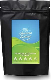Sodium Alginate, 4 oz, by American Heritage Industries