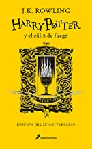 Harry Potter y el cáliz de fuego. Edición Hufflepuff / Harry Potter and the Goblet of Fire. Hufflepuff Edition (Spanish Ed...