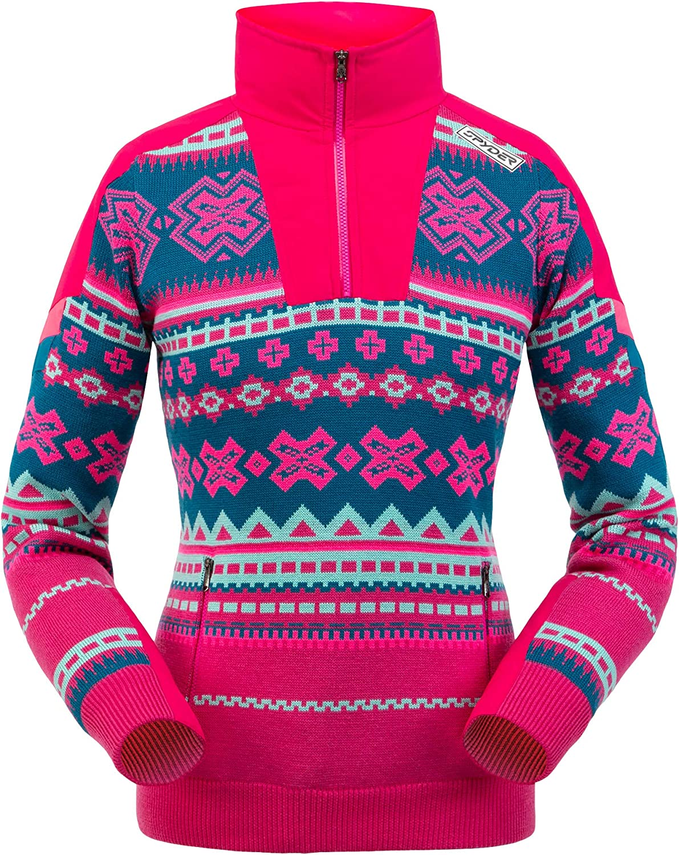 Spyder Women's Legacy Gore-Tex Al sold out. Infinium Half Ladies Z Pullover – Cheap bargain