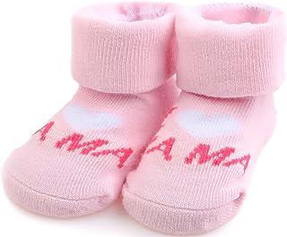 Bobobaby, Bobobaby Bebé Niñas y Niños Calcetines 0-6 Mes BS (14 - Rosa)