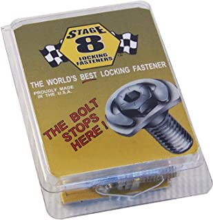 Stage 8 8906 Locking Header Bolt Kit with 8mm Bolts for Ford 4.6 and 5.4 Liter Modular Engine