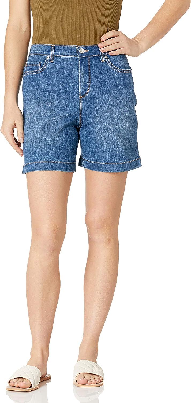 Gloria Vanderbilt Women's Amanda Basic Jean Short
