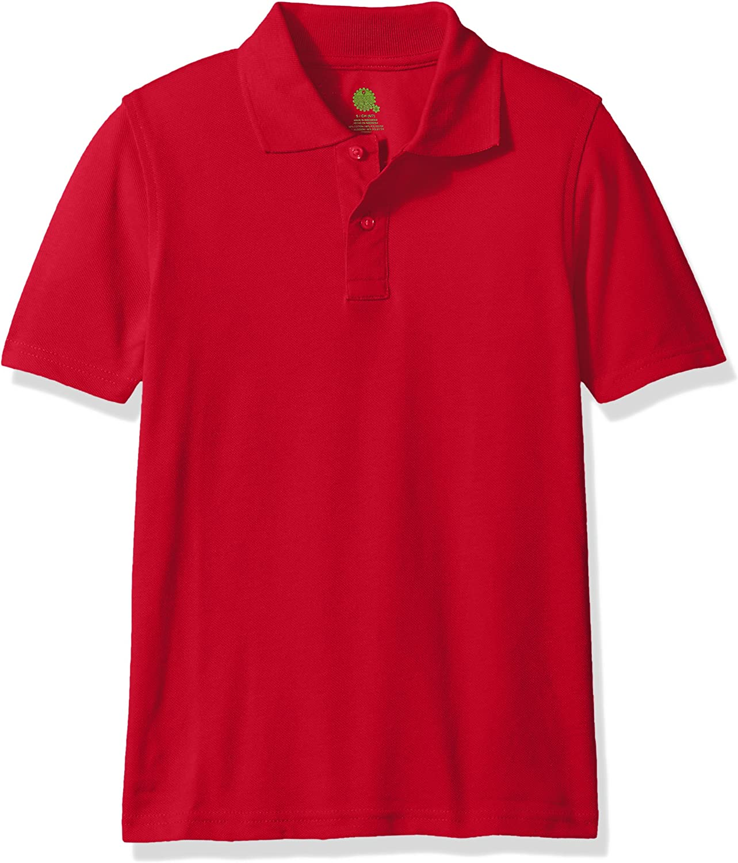 Essentials Jungen Boys Short-Sleeve Uniform Pique Polo