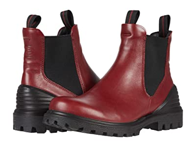 ECCO Tredtray Chelsea Boot (Syrah) Women