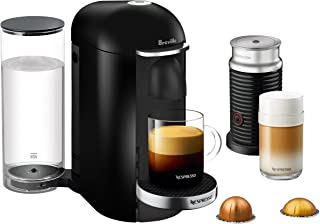 Breville-Nespresso USA BNV450BLK1BUC1 VertuoPlus Coffee and Espresso Machine, 14.8 x 11 x 15.5 inches, Bundle - Black