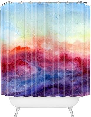 Deny Designs 71 by 74-Inch Jacqueline Maldonado Cottage Peonies Shower Curtain Standard